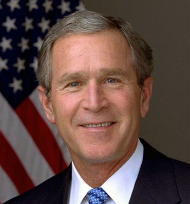 Bush Signs Gay Rights Bill. Yes, You Read That Right