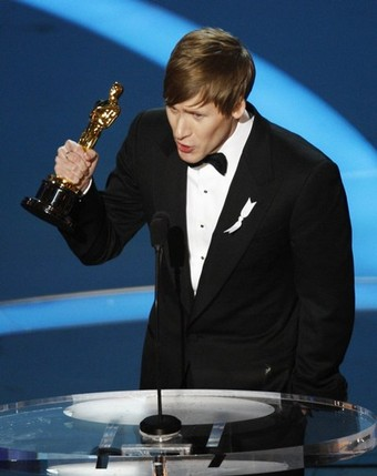 Did India De-Gayify Dustin Lance Black's Oscar Speech?