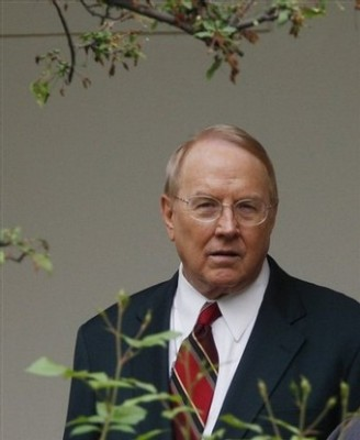 IT'S OFFICIAL: James Dobson Has Given Up!