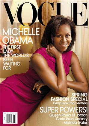 Michelle Obama's Official Vogue Welcoming to Fashion