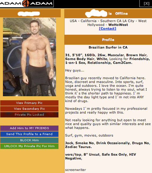 Gay hookup site like adam4adam