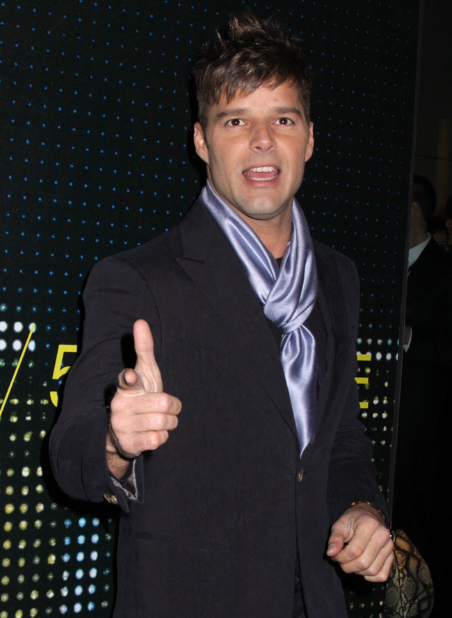 Ricky Martin Harassed By Person With Lady Parts
