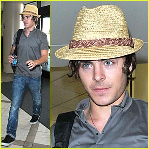 Hot Guys in Hats zac-efron-fedora-favorite ? Queerty