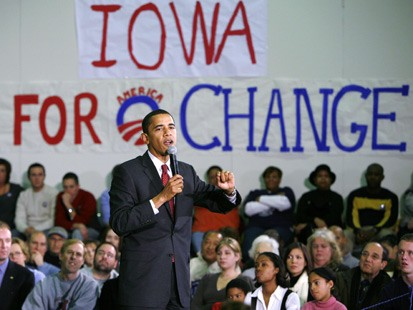 Obama's Missed Iowa Moment