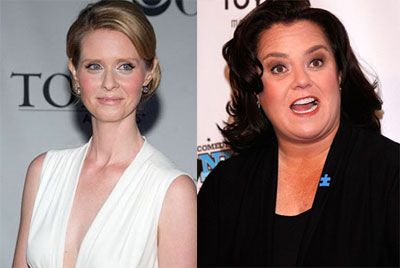 But What Do Famous Lesbians Cynthia Nixon & Rosie Think About Carrie Prejean?
