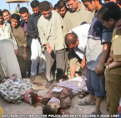 Bush Administration's Military Knew Iraqi Gays Were Being Targeted + Slaughtered. Back In 2005