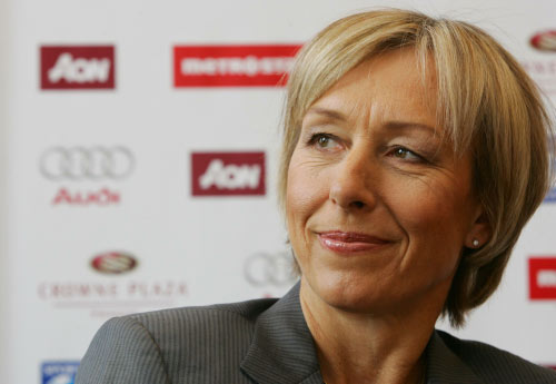 Is Martina Navratilova The Coniving Ex? Or Is It Her Former Lover?