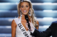 Miss California Says God Was 'Testing' Her. She Failed