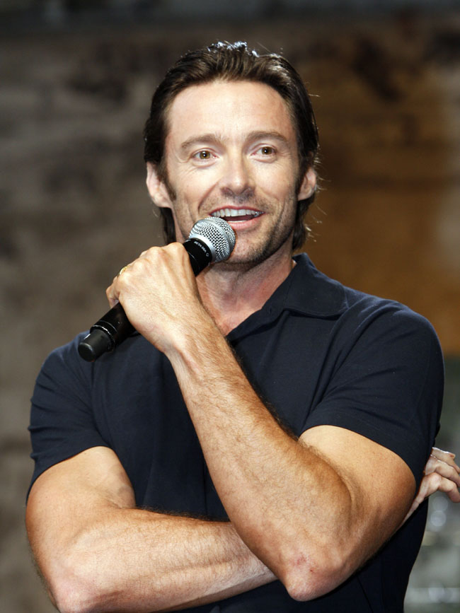 'X-Men Origins: Wolverine' media event with Hugh Jackman