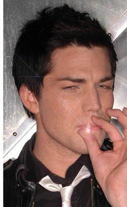 adamlambert_smoking
