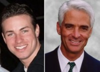 That Fag Charlie Crist Wants to Be a Senator (And Wishes to Be Straight)