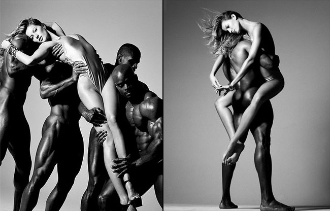 Should Gisele Bündchen Just Never Be Photographed With Black Guys?