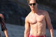PHOTOS: Look How Quickly Matthew McConaughey Shed That Baby Weight