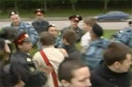 WATCH: Russian Police Arrest 80+ at Gay Pride Parade