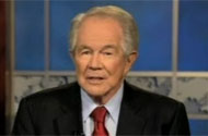 WATCH: Pat Robertson Delivers Jokes With Straight Face