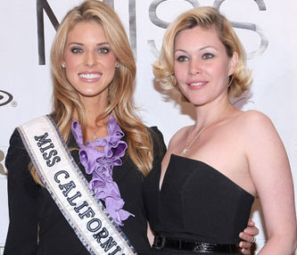 The Niceties Exchanged Between Prejean and Moakler? Just Beauty Pageant Smiles