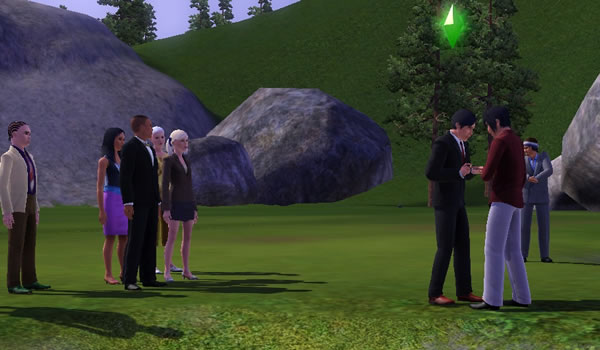 Gays Can Get Married (In Fantasy Virtual World)