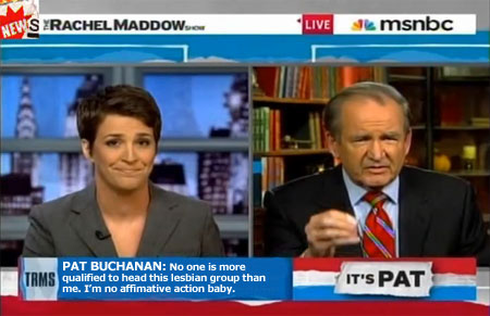 "Pat Buchanan's Racist Tome Gets Him Fired From MSNBC. He Blames Blacks, ""Militant Gays"""