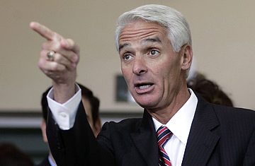 Openly Straight Florida Gov. Crist Proudly Announces Gay Adoption Ban Is Working!