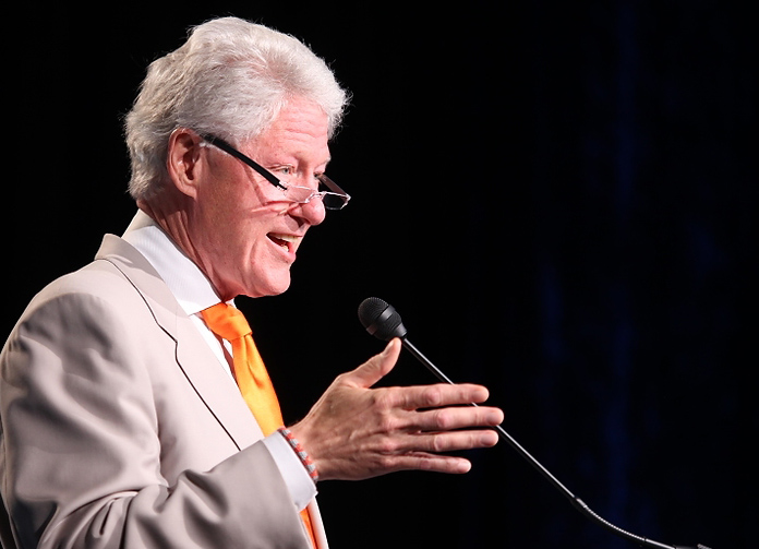 DOMA Signer Bill Clinton Gives 'Yeah' on Gay Marriage