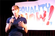 WATCH: Cleve Jones + Dustin Lance Black Host March on Washington Kick-Off Party