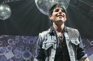 PHOTOS: Of Course There are Disco Balls Behind Adam Lambert on the Idol Tour