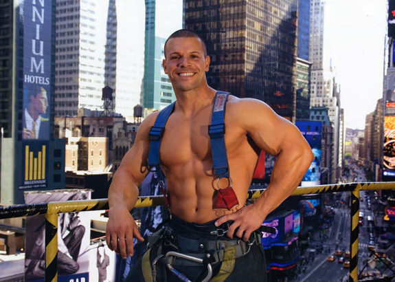 gratuitous skin. PHOTOS: The Hottest Guys Saving New York City From the Heat