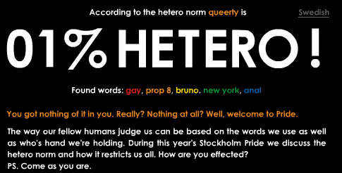How Hetero Is Your Twitter?