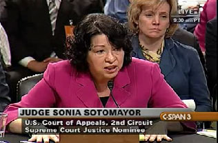 Sonia Sotomayor Will Not Take Your Questions on Gay Marriage!