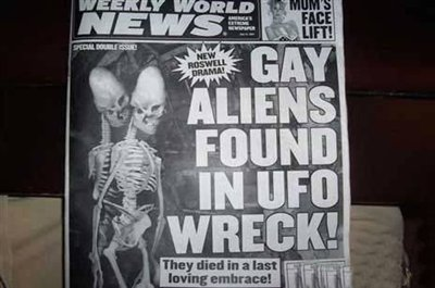 Intervention Helps Stem Homophobia, But Only When Gays Are Replaced By Outer Space Aliens