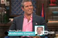 Like a Good Gay, Andy Cohen Protects Anderson Cooper's Glass Closet