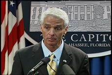 Totally Straight Gov. Crist Won't Just Give Himself the Senator Gig