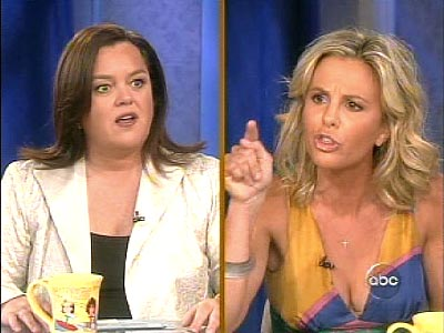 Does Anyone Care if Rosie O'Donnell Calls Elisabeth Hasselbeck a 'Twat'?