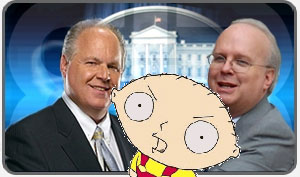 Rush Limbaugh + Karl Rove Know They're Going to Appear on a Show With Homosexuals, Right?