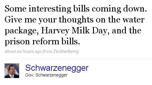Maybe Sean Penn Needs to Call Schwarzenegger Again About Harvey Milk Day