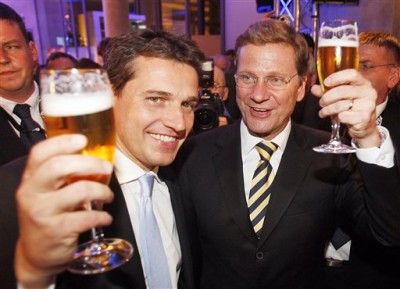 Germany Westerwelle Gay