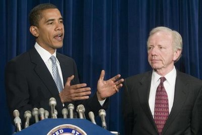 Why Is Obama Making Joe Lieberman His DADT Pointman?