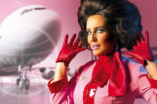 Pam Ann Is a Fake Flight Attendant, And Will Not Save You In Case of Emergency