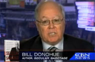 The Magical Argument From Catholic League's Bill Donohue That Blames Gays For ALL EVIL