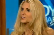 Did Ann Coulter Just Get Through an Entire Interview Without Eating Babies Alive?