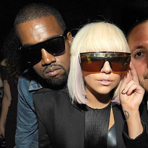 Is Gay Fav Lady Gaga Ditching Gay Baiter Kanye West?