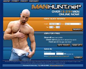 Manhunt mens site