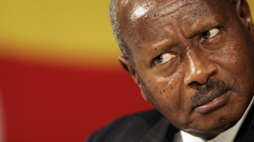 Will Uganda's President Have to Answer for His Gay Hate Bill? ... Taylor Lautner's BF?!