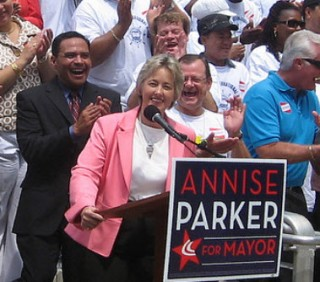 How Annise Parker's Houston Mayoral Opponent Is Dogging Her With Anti-Gay Attacks