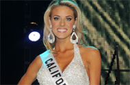 Will Carrie Prejean Be Popping Up During Sunday's Miss California Pageant?