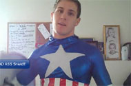 Does This Spandex Costume Make Scott Herman Look Gay?