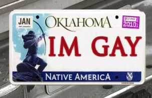 "Should ""IM GAY"" License Plate Be Allowed? … Rio Knows Gay Pride"