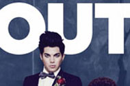 Adam Lambert Raises a Certain Middle Finger to Out