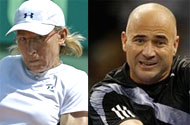 Agassi to Navratilova: Can't You Feel Sympathy For My Meth Addiction?