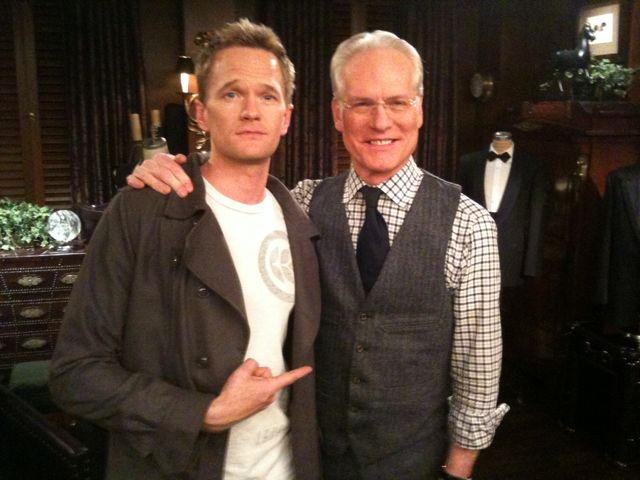 @ActuallyNPH Scores Some Tweet Time With @TimGunn
